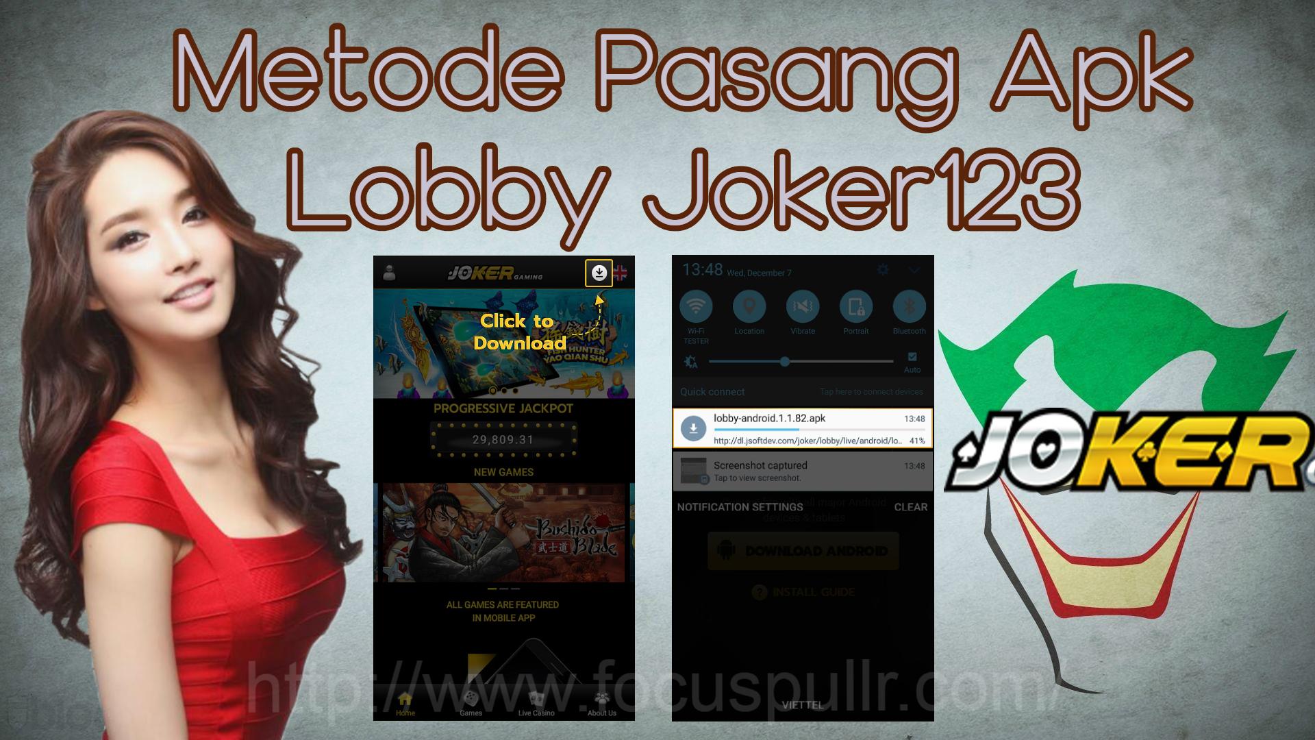 Metode Pasang Apk Lobby Joker123